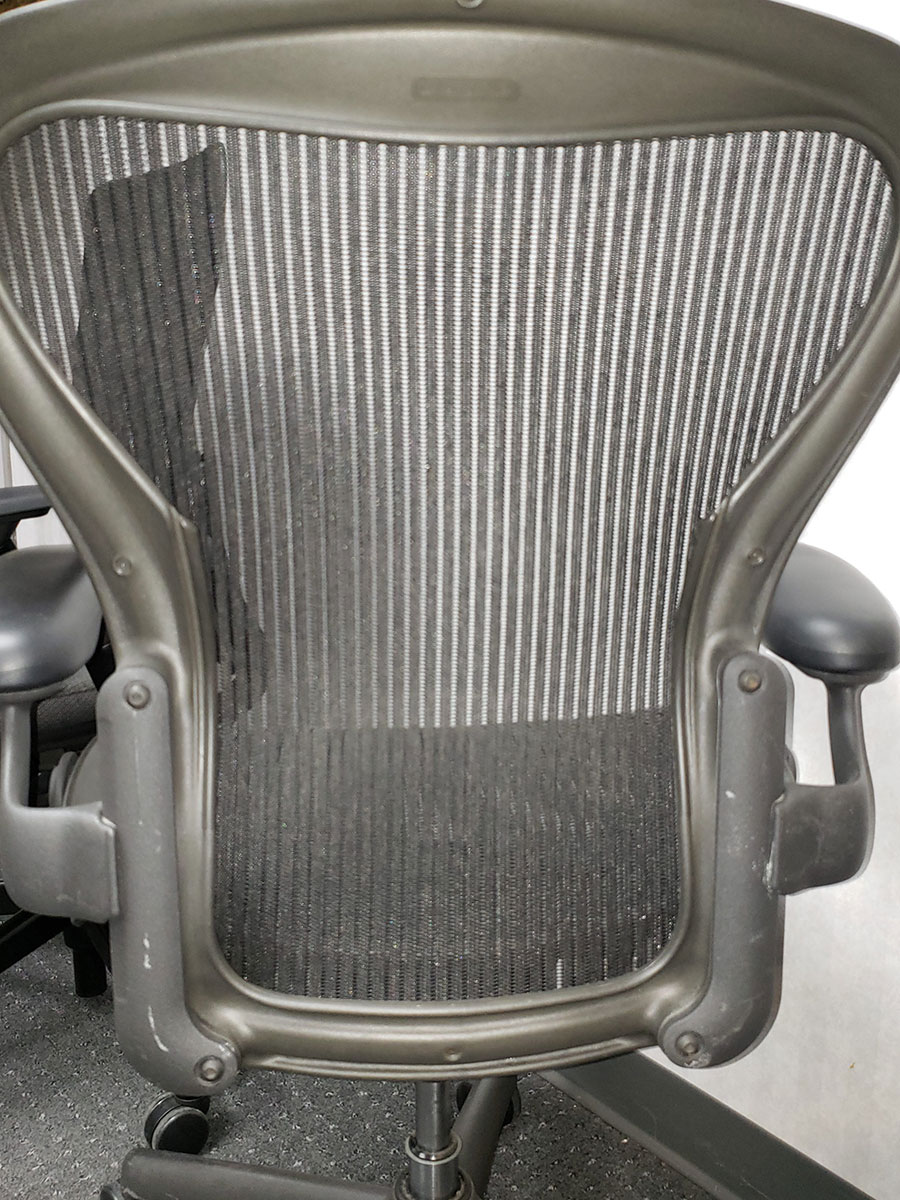 Herman Miller Aeron Size Quot B Quot Fixed Arms No Adjustable